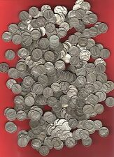 Lot Of Ten - Us *Mercury Dimes* 90% Silver survivalist barter coins~ before 1946