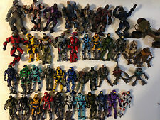 Lot of 41 Halo Action Figures Microsoft