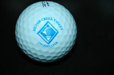 GOLF BALL LOGO SILVER CREEK VALLEY Country Club , CA Course Links Related