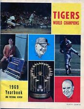 Detroit Tigers 1969 Yearbook & Pictorial Review - (W/SPECIAL BONUS)