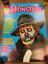 Famous Monsters 109 1974 Vincent Price Madhouse Cover Poster Warren Mag 20x27