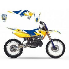 KIT DECO DREAM JAUNE HUSQVARNA  GRAPHIC II POUR CR/WR125 00-05