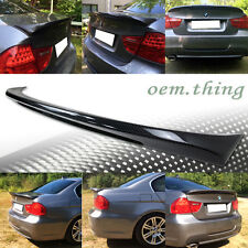 Carbon BMW E90 3-Series 4D Sedan M Tech Trunk Spoiler 11 335i 328i 335d