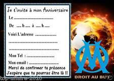 5 cartes invitation anniversaire Foot 05 d'autres articles en vente !