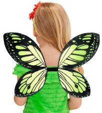 Feenstaub Schmetterlingsflügel grün für Kinder NEU - Zubehör Accessoire Karneval