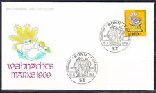 Germany 1969 FDC cover Mi 610 Sc B454 Toy Christmas.Ersttagbrief
