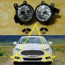 1Pair New OEM Fog Lights Lamps For Ford Mondeo Fusion 2013-2015