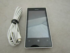 Nokia Lumia 521 White Windows 8 Smart Cell Phone T-Mobile Bundled w. USB Charger