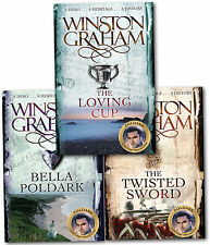 Winston Graham Poldark Series Trilogy Books 10,11,12 Collection 3 Books