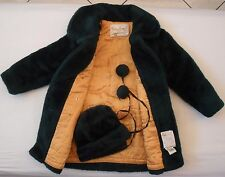 TEDDY BEAR BY WHITE STAG SZ5-6 AUTHENTIC GREEN GIRL'S COAT JACKET WINTER OUTFIT
