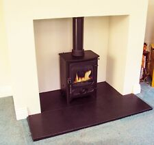 """GRANITE HEARTHS - """"SATIN FINISH"""" - MADE TO MEASURE FOR WOOD/MULTIFUEL STOVES"""