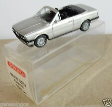 MICRO WIKING HO 1/87 BMW 320 I CABRIOLET GRIS CLAIR METAL in box