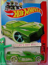 Case E 2014 Hot Wheels HYPERTRUCK #186 US∞Green; Glow in Dark Wheels∞Night Storm