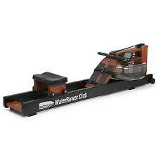 The WaterRower Club Rowing Machine in Ash wood with S4 Monitor