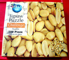 Puzzle World Challenge PEANUTS 500 pc Jigsaw Puzzle NEW SEALED Nuts Collage