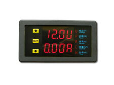 DC 10V~90V 20A Dual LED Digital Voltmeter Ammeter Voltage AMP Power Meter 12v