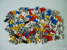 LEGO / x 140 'Plate, Modified 1 x 1 with Clip Light - Thick Ring' (4081b)