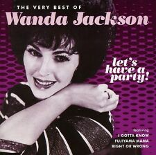 Let's Have A Party: Very Best Of Wanda Jackson - Wanda Jackson (2011, CD NEUF)