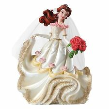 Enesco Disney Showcase Belle Wedding Figurine