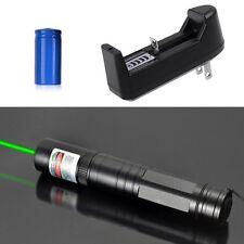 Ultra Puissant Pointeur laser  Vert 1mw 532nm + batterie + chargeur