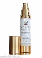 BABYFACE CLINICAL STRENGTH NIGHT RENEWAL RETINOL CREAM - 2.5% RETINOL VITAMIN A