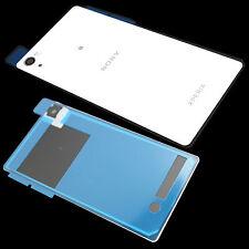 Akkudeckel Sony Xperia Z2 L50 D6503 Accu Cover Abdeckung Ersatz Weiß+Kleber