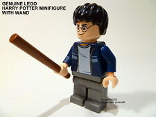 LEGO GENUINE 'HARRY POTTER' MINIFIGURE CASUAL CLOTHES + WAND HP116 NEW