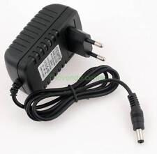 2A 12V DC Universal Stecker Netzgerät 2A 5.5mm Trafo Netzteil Adapter AC/DC neu