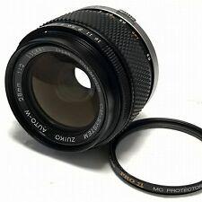 OLYMPUS OM-SYSTEM ZUIKO AUTO-W 28mm F2 Prime Lens Excellent from Japan F/S