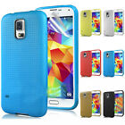 TPU TOP Soft Silicone Gel Back Case Cover Rubber Skin Samsung Galaxy S5 V i9600