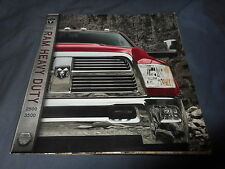 2011 Dodge Dodge Ram 2500 3500 Heavy Duty Color Brochure Catalog Prospekt