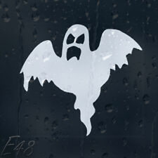 Happy Halloween Funny Ghost Car Or Wall Decal Vinyl Sticker For Window Bumper