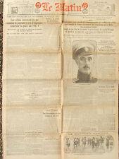 LE MATIN (12/8/1920) La France et la Pologne - Hausse des prix de la viande