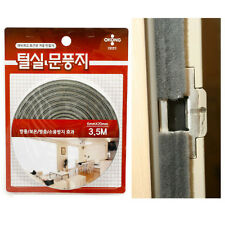 "Window Door weather strip Guard Cold Air Stopper Home Energy Saver Tape 137"" NEW"