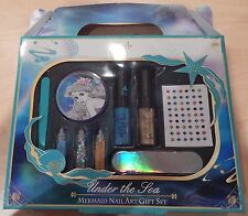 Disney Ariel Under The Sea Mermaid Nail Art Gift Set