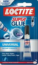 Loctite Instant Strength Super Glue 3g For China Metal Rubber Leather Paper Wood