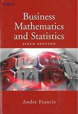 Business Mathematics and Statistics by Andre Francis (Paperback, 2004)