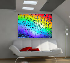 Rainbow Gel large giant 3d poster print photo mural wall art ia134