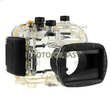 40M Waterproof Underwater Housing Hard Case for Canon WP-DC34 Powershot G11/ G12