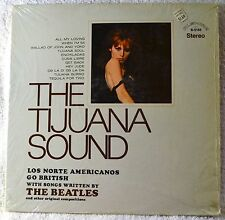 The Tijuana Sound Los Norte Americanos Go British LP Shrink NICE Beatles Latin