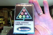 A Total Experience Christmas- VA- Gap Band- new/sealed cassette tape