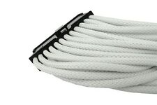 Gelid 24 Pin (EPS) 30cm Single Sleeved UV-reactive Cable (CA-24P-02) White