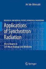 Applications of Synchrotron Radiation: Micro Beams in Cell Micro Biology and Med