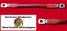 Battery Interconnect Cable Red 12 Inch 2/0 AWG for Solar Panel Wind Generator
