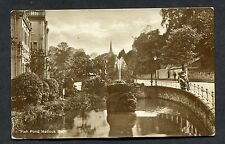 C1930's View of the Fish Pond, Matlock Bath.
