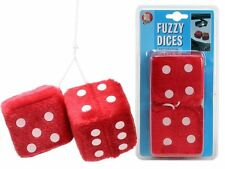 All Ride Decor Car Cube from Plush Red Blue Dice Truck Van Hanging Decoration Uk