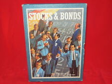 STOCKS & BONDS Game 3M Bookshelf 1964 Stock Investors Traders