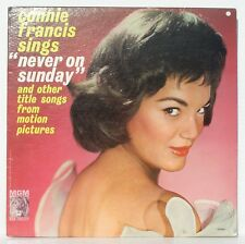 CONNIE FRANCIS  - 2 LPS  -  Never On Sunday  /  My Thanks to You