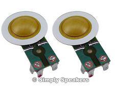 Diaphragm for SWR Megoliath Horn Driver SS Audio Speaker Repair Parts 2 Pack