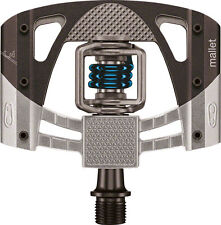 NEW Crank Brothers  Mallet 3 Bike Pedals black w Blue Spring